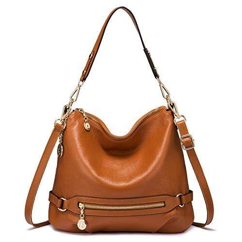 d391d1f0fe Genuine Leather Handbags for Women Large Designer Ladies Shoulder Bag  Bucket Style