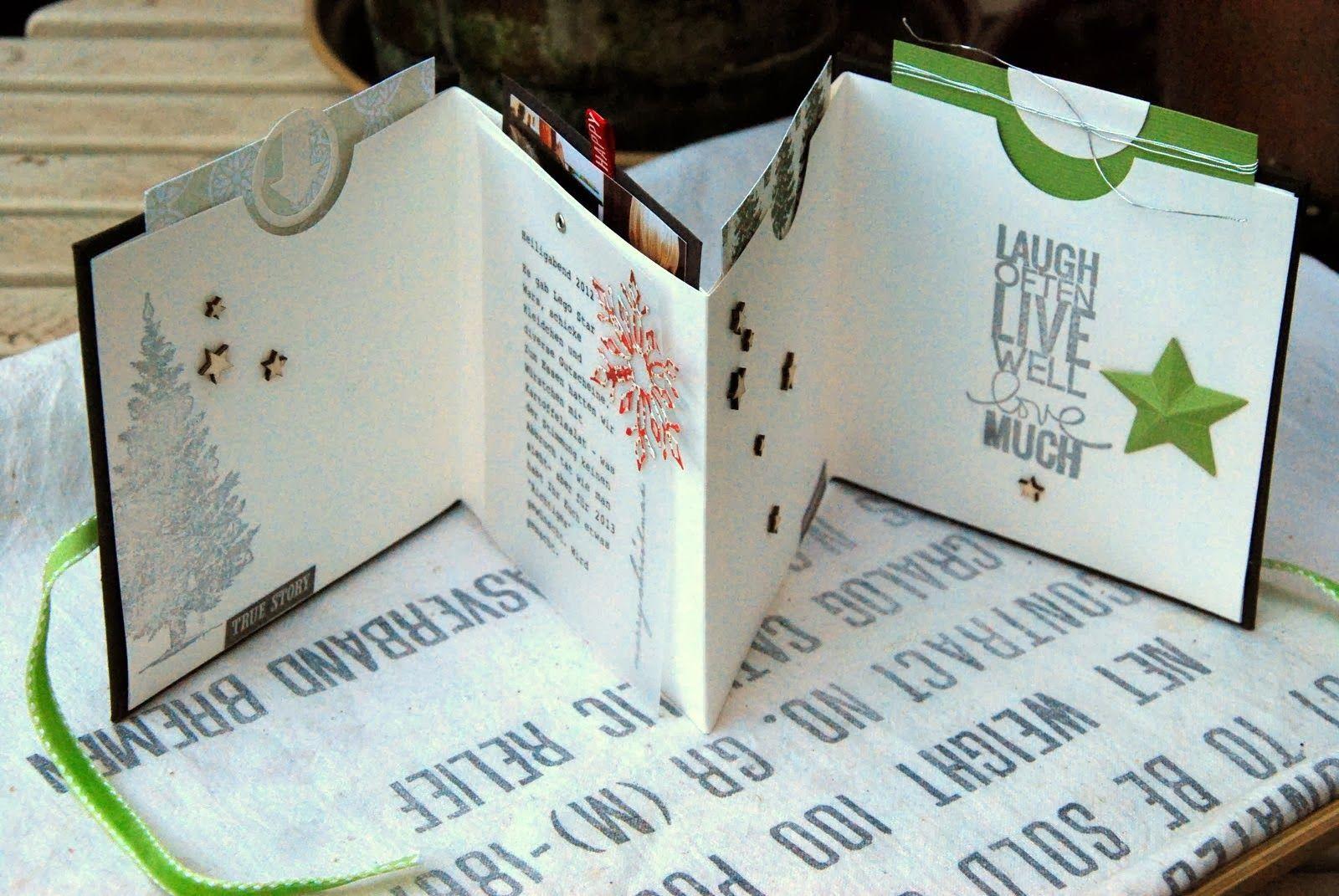 sch ne dinge aus papier mit einiger versp tung minialben minib cher cd mappe und papier. Black Bedroom Furniture Sets. Home Design Ideas
