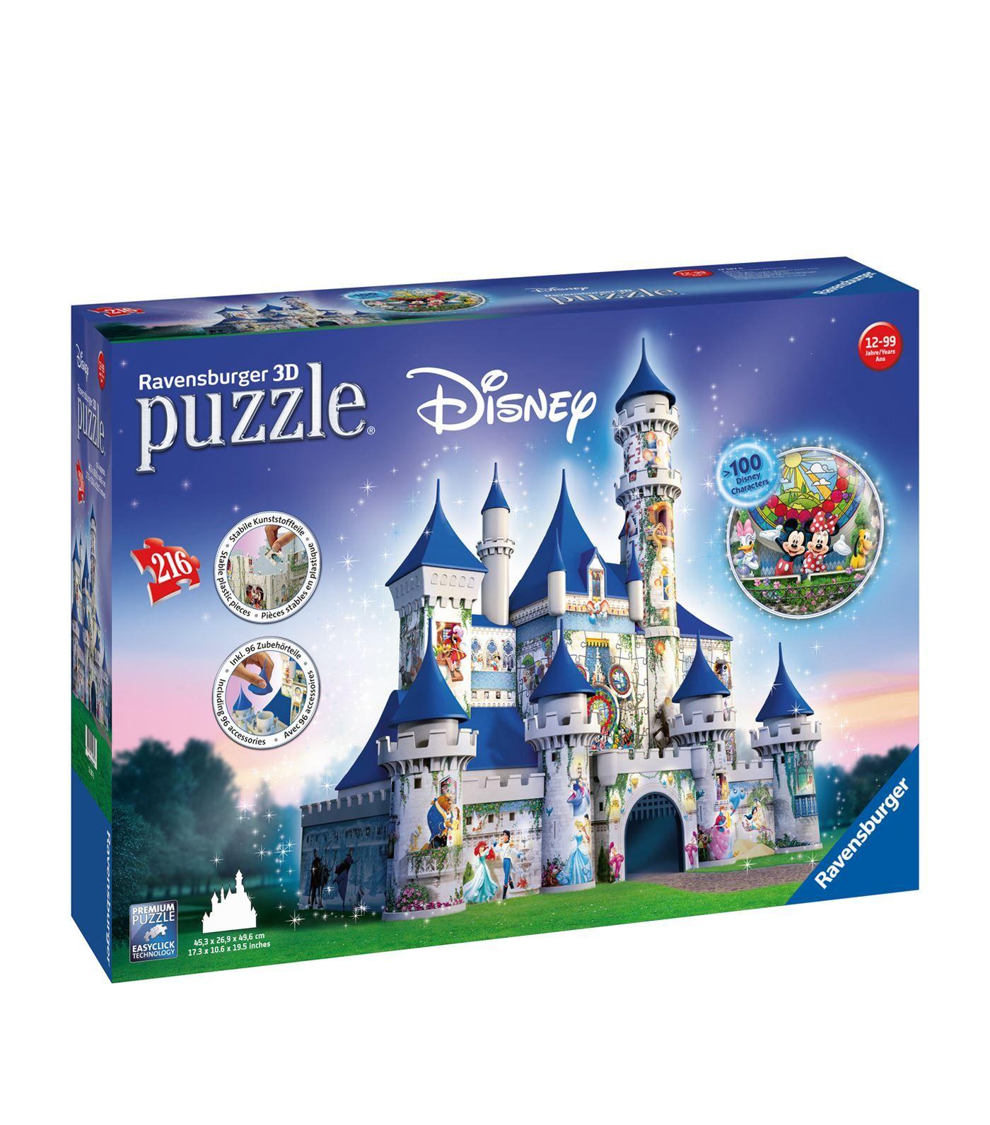 Disney 3d Disney Castle Puzzle Harrods Com Disney Puzzles Disney Castle Ravensburger