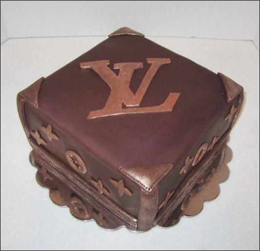 Louis Vuitton cake Just Get Baked Cakes Pinterest ...