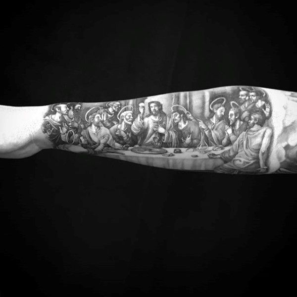 Last Supper Forearms M...