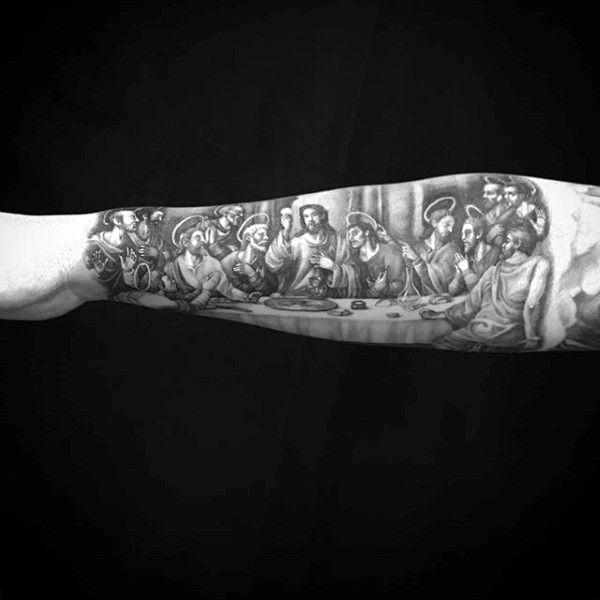 100 religious tattoos for men sacred design ideas
