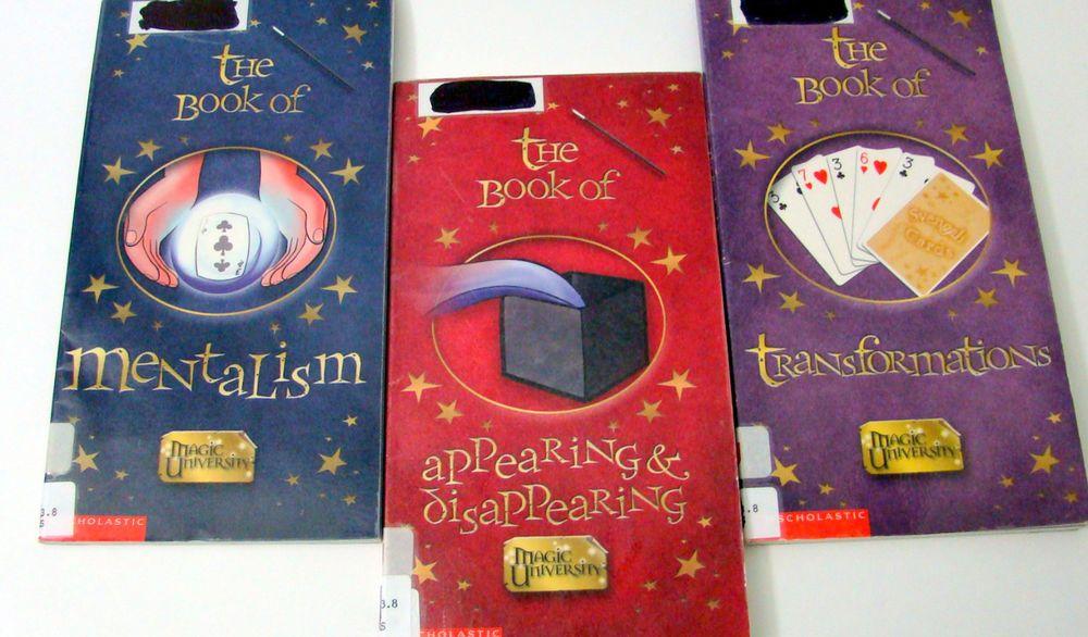 Lot of 3 magic university childrens books transformations