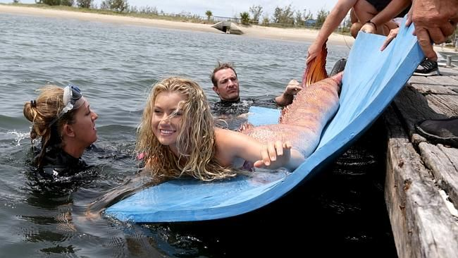 Mako Mermaids - bts | Mako Mermaids: Island of Secrets ...