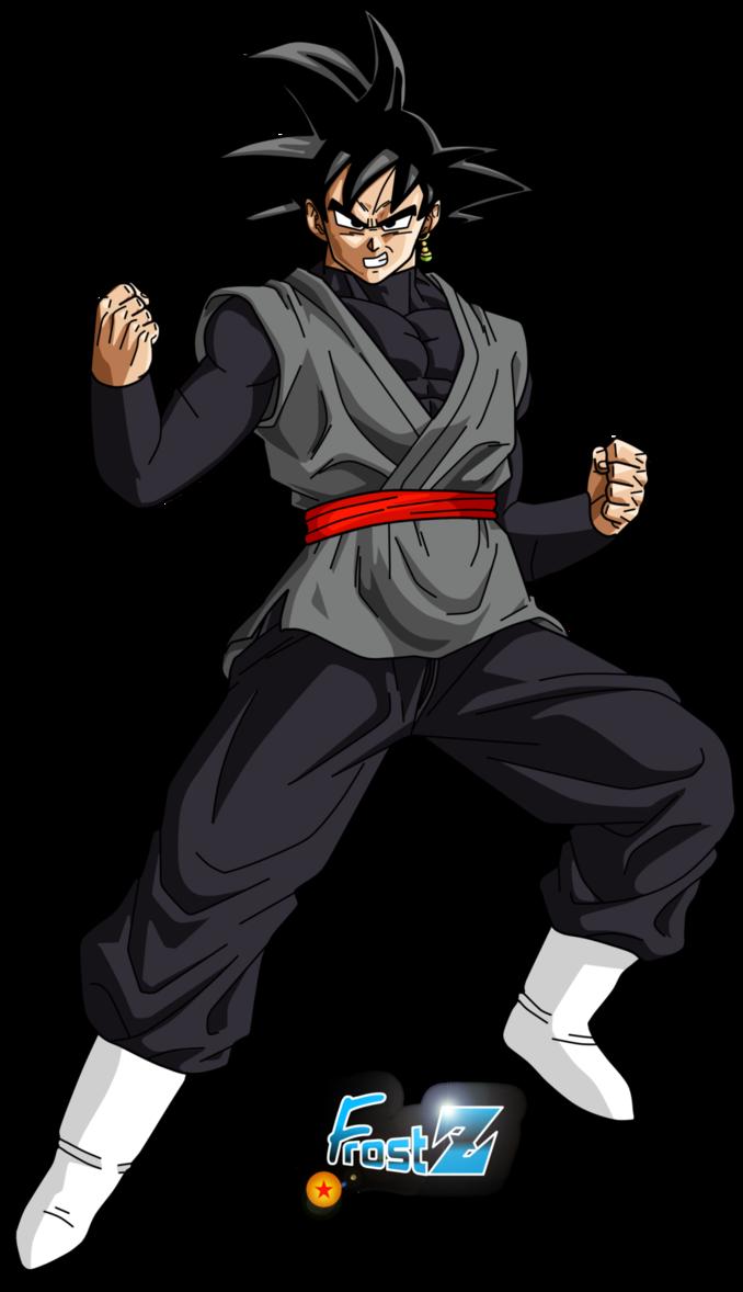 Goku Black By Frost Z Dragon Ball Z Goku Black Dragon Ball