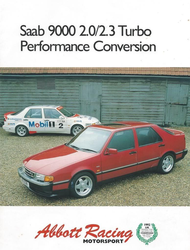 Saab 9000 20 23 Turbo Performance Conversion By Abbott Racing MotorSport