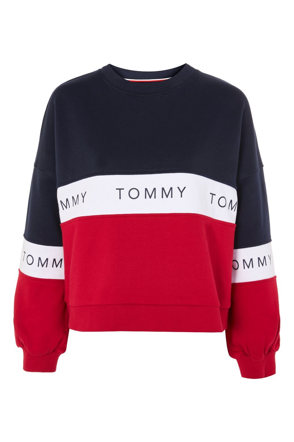 Colour Block Knitted Jumper by Tommy Jeans in 2020 | Tommy