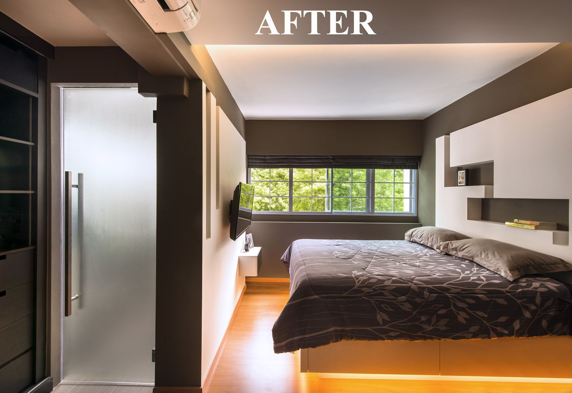 Completed Renovation Project Hdb 5 Rooms At Bedok Bedroom Design Modern Bedroom Interior Contemporary Bedroom Design