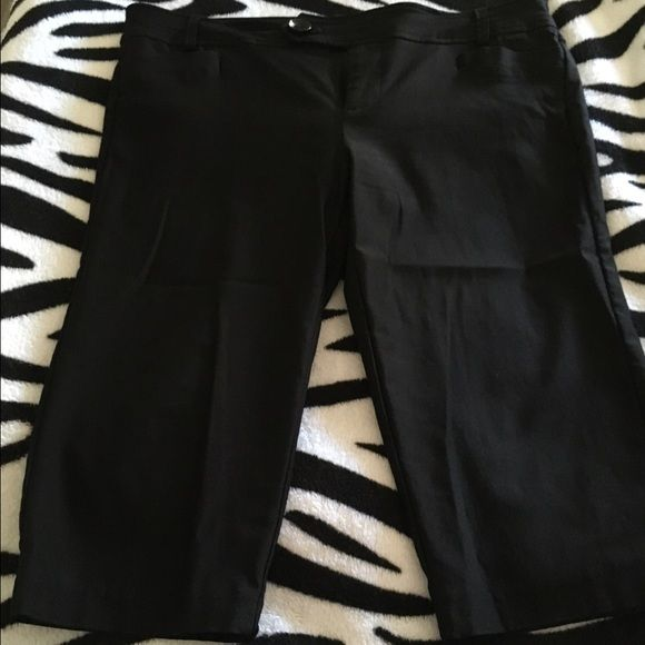 Black Dressy Capris | Dress up, Capri and Pets