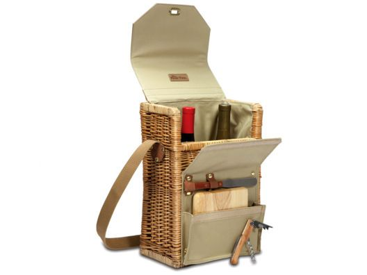 Corsica Wine and Cheese Basket from Tyler Wisler