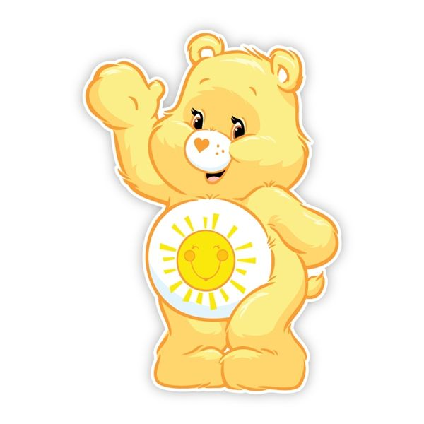 Care Bears Funshine Bear Wave Care Bears And Bears