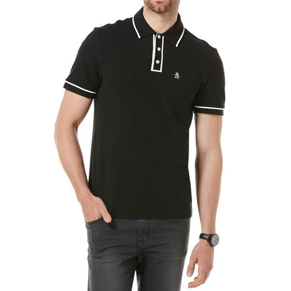 THE EARL POLO 2.0 HERITAGE FIT, Caviar, hi-res