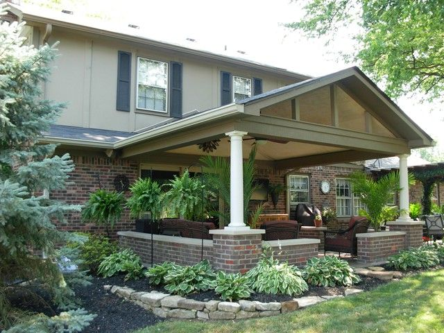 covered patio addition additions porches and decks remodeling covered patio roof addition. Black Bedroom Furniture Sets. Home Design Ideas