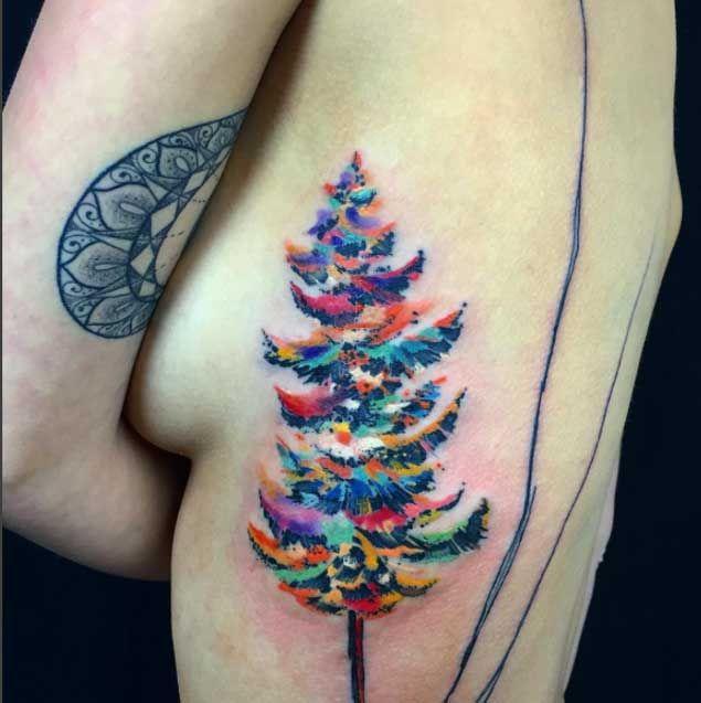 40 Achingly Beautiful Tree Tattoos Tree Tattoo Color Roots