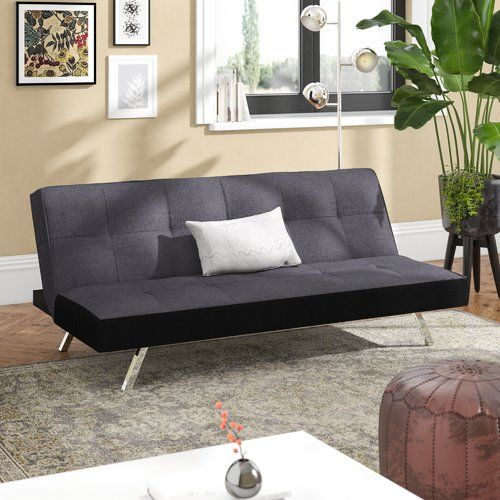 Enjoyable 17 Stories Rayfield 3 Seater Clic Clac Sofa Bed Products Theyellowbook Wood Chair Design Ideas Theyellowbookinfo