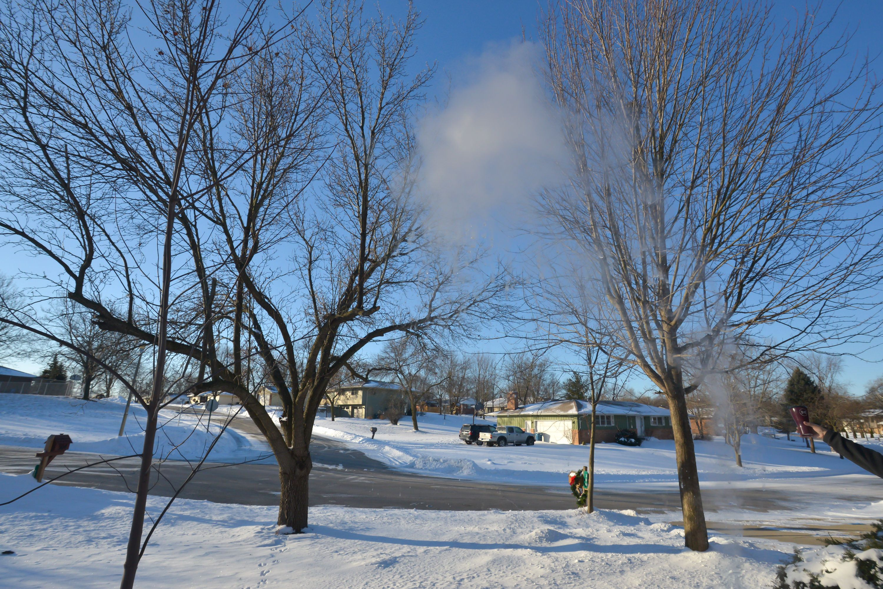 State Farm Free Quote Snow Cloud  Throw Boiling Water Into The Air On A Very Cold