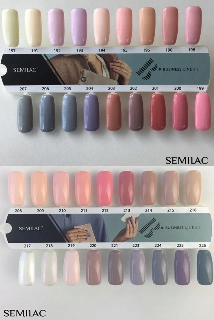 Semilac Lakier Hybrydowy Business 202 Grey Brown 6969923031 Oficjalne Archiwum Allegro Fashion Nails Nail Tips Nail Colors