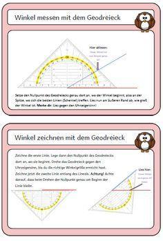 wahnsinnsklasse erkl rungsplakat so benutze ich ein geodreieck schule mathe unterrichten. Black Bedroom Furniture Sets. Home Design Ideas