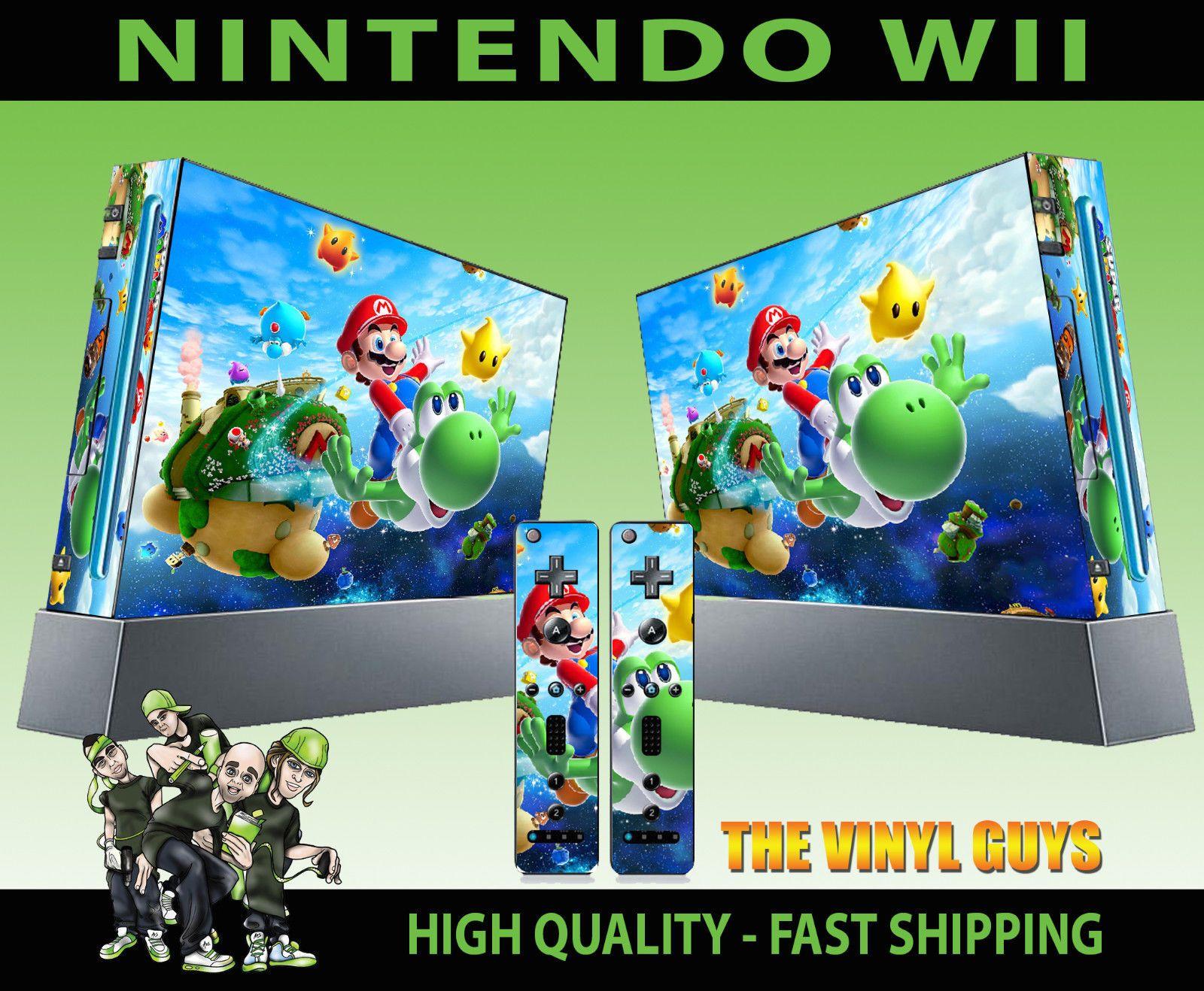 6.99 GBP - Nintendo Wii Sticker Super Mario Galaxy 2 Yoshi Peach ...