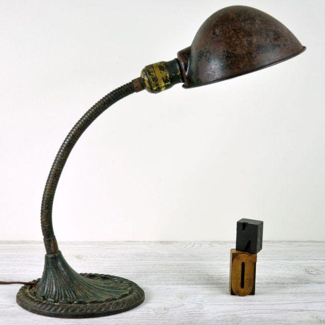 Vintage Gooseneck Desk Lamp | www.pixshark.com - Images ...