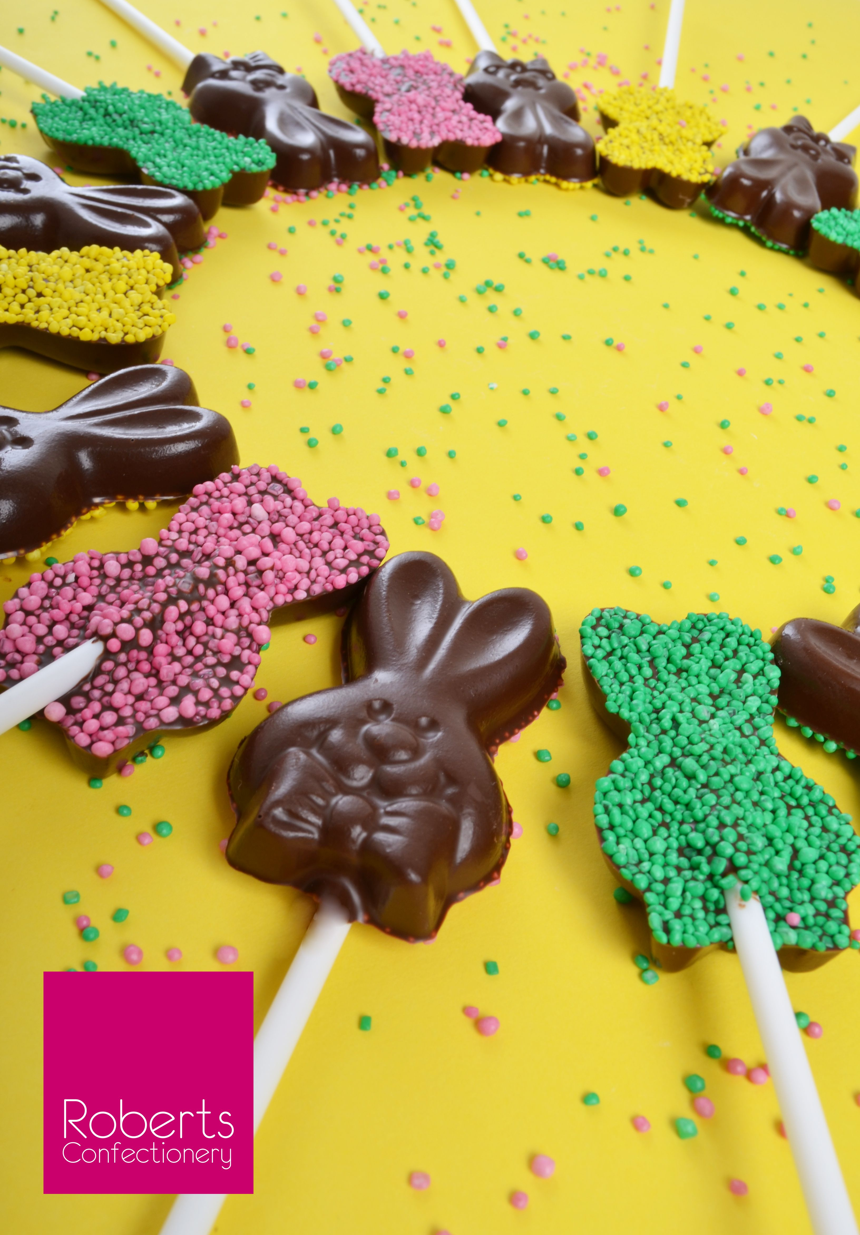 Sprinkle Bunnys Made With Roberts Confectionery Easter