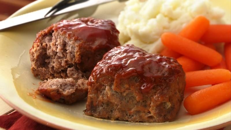 30 Minute Mini Meatloaves Recipe Recipes Grilled Meatloaf Meatloaf