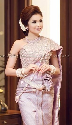 Khmer outfits traditional