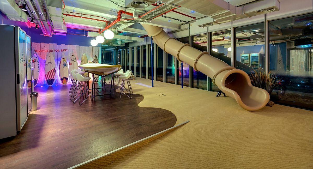 Office Tour Inside The New Google Tel Aviv Office Tel aviv