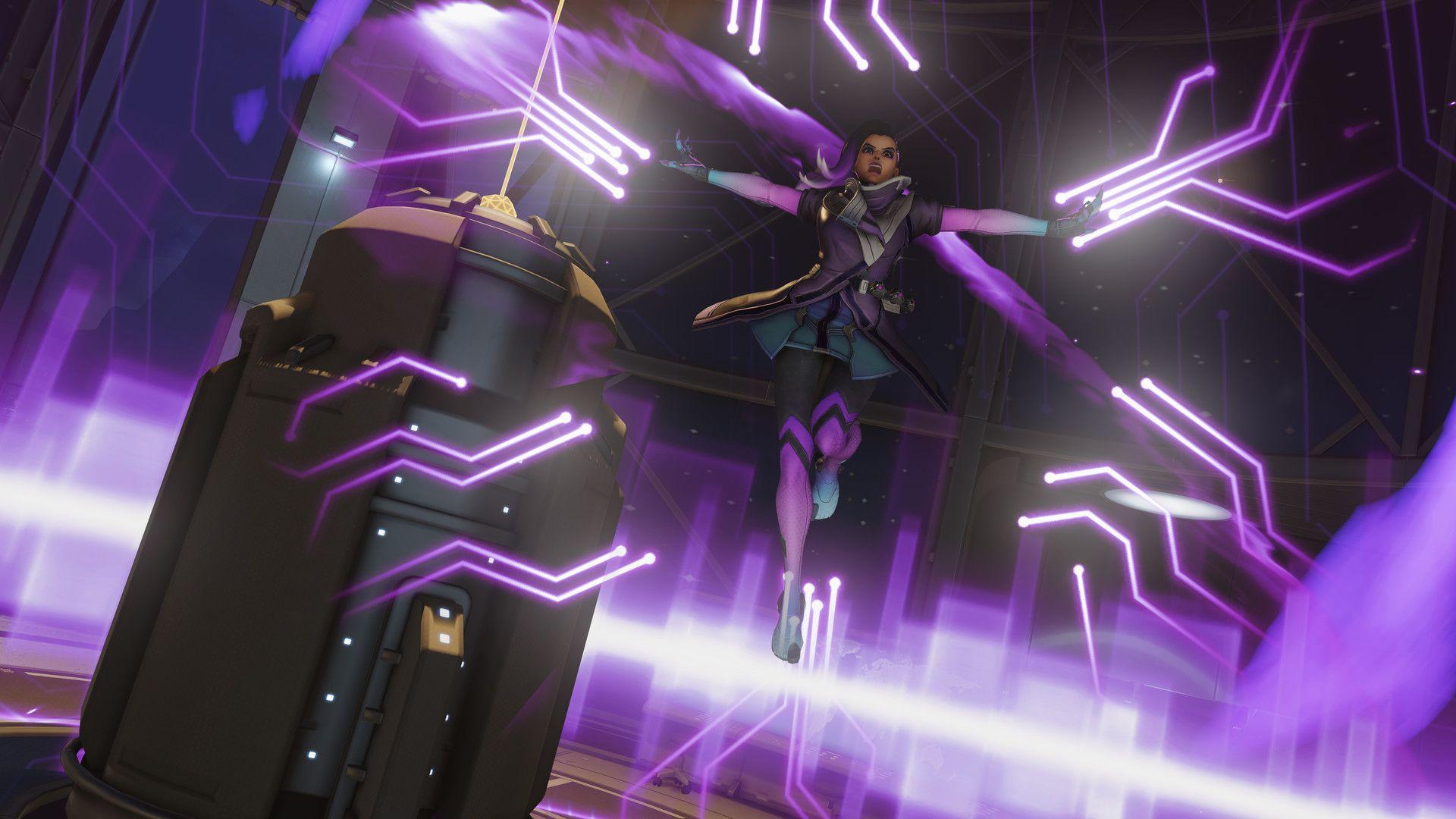 Artstation  Overwatch Sombra, Hong Chan Lim