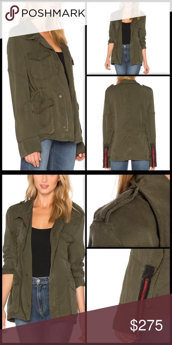 daccd8a56 SOLD - ETIENNE MARCEL ♠️ Military Jacket NWT Bad a$$ look, super ...