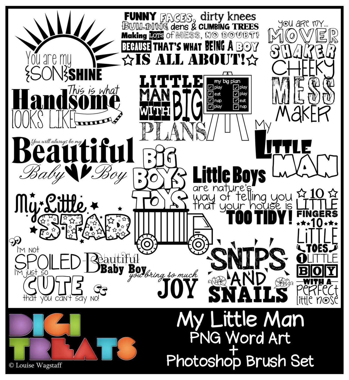 The art of making sentences with the word art