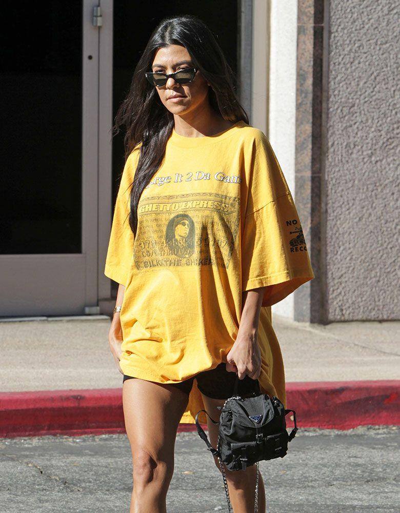 43247fbc8aa8c Just Can t Get Enough  Kourtney Kardashian Loves Her Mini Backpacks -  PurseBlog