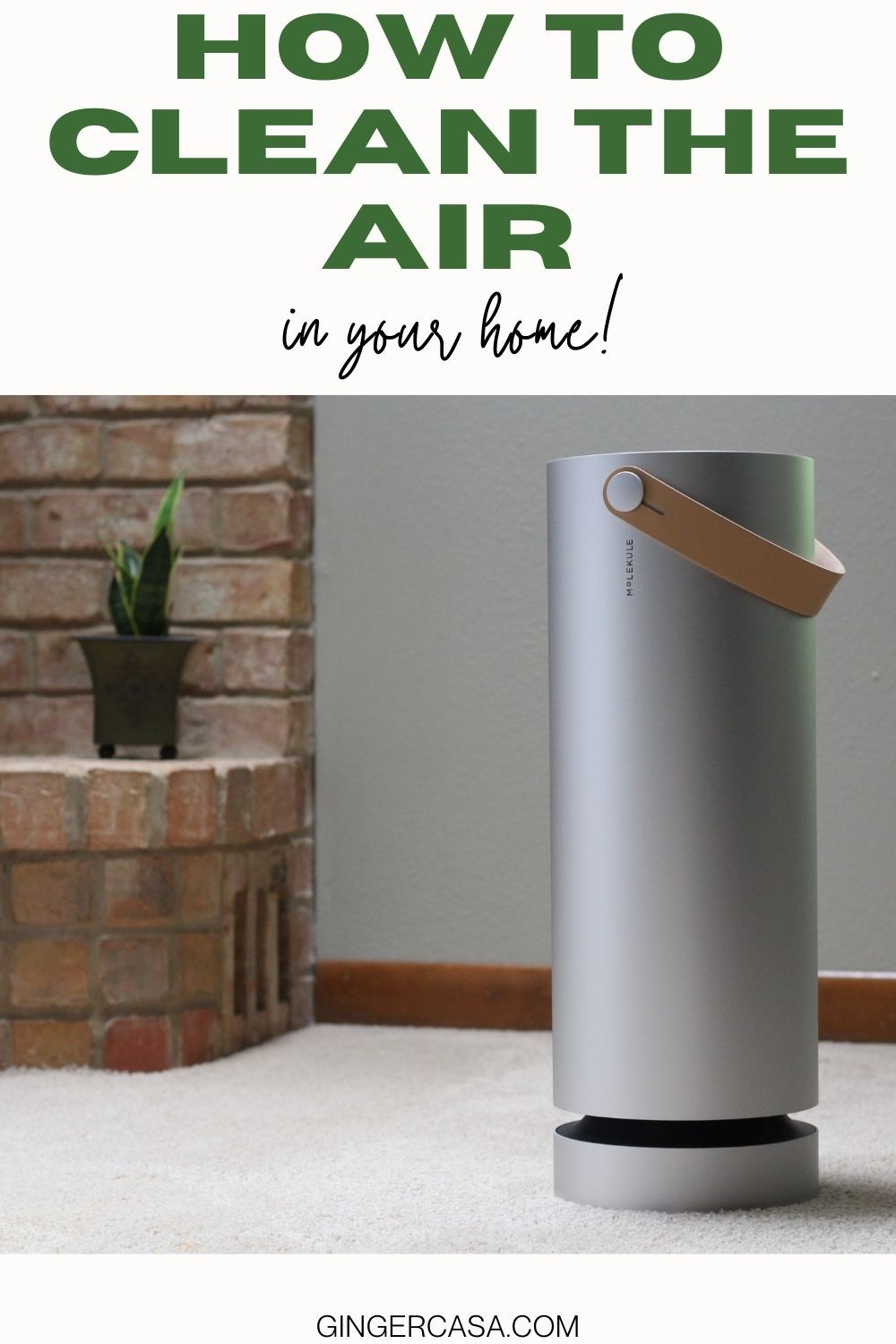 How to clean the air in your home in 2021 cleaning