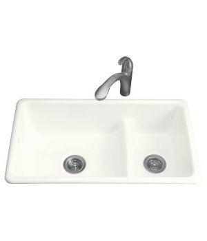 Kohler K 6625 With Images Sink Cast Iron Kitchen Sinks