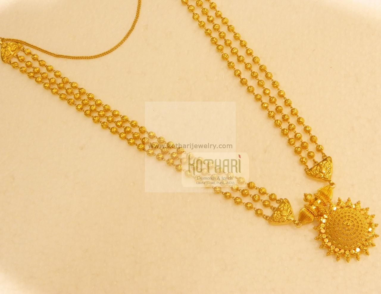 Necklaces / Harams - Gold Necklaces / Harams (NK69806980) at USD ...