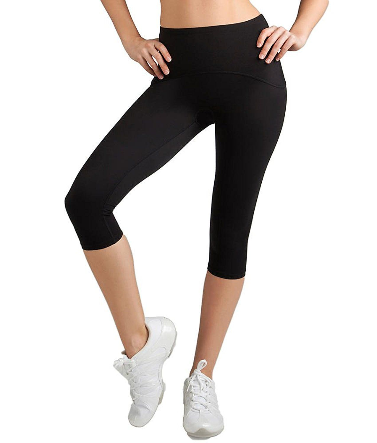 2384f2b9b8f1ba Spanx Active Women's Shaping Compression Knee Pant Black Pants XL X 16 --  This is an Amazon Affiliate link. You can find out more details at the link  of the ...