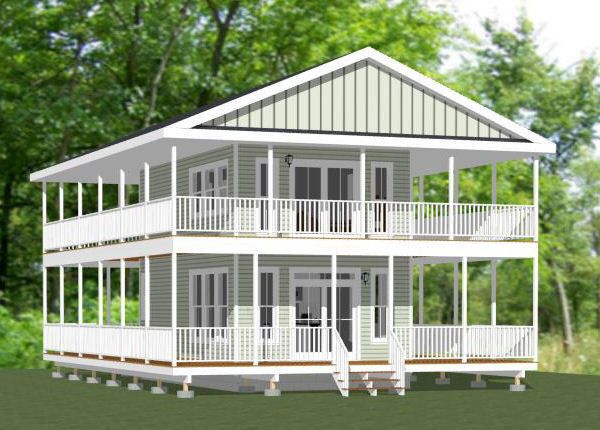 16x28 tiny house 810 sq ft pdf floor plan model 9 for 15x28 house plans