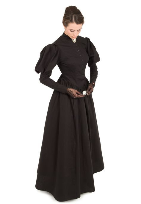 Mourning Gown #dressesfromthesouthernbelleera