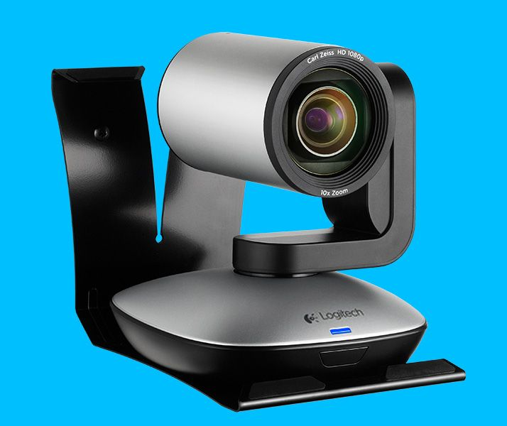 Logitech PTZ Pro Camera for large conference rooms | Sensorium ...
