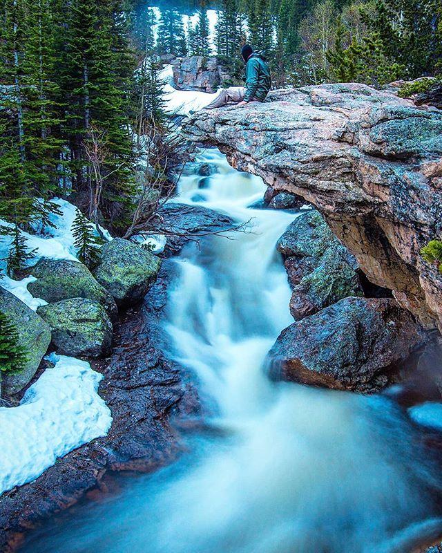 A spectacular point to watch a cascade. . . . . . . . # ...