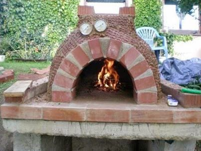 Make delicious pizza or bread in your own #stone #oven   www1