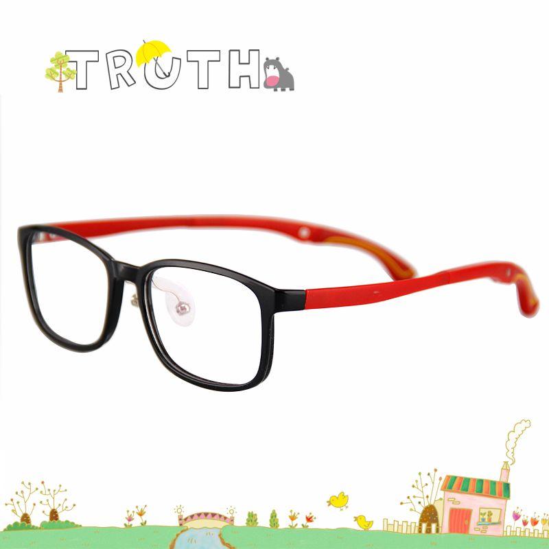 TRUTH 4 degree adjust tips optical children glasses transparent ...