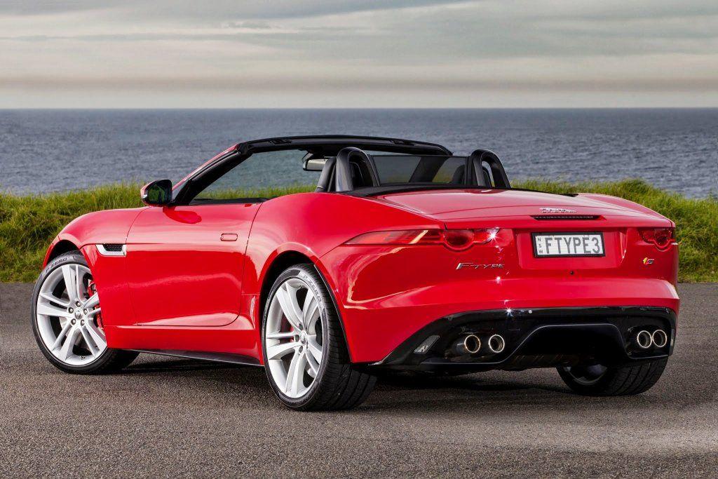 Jaguar F Type Convertible Red Color