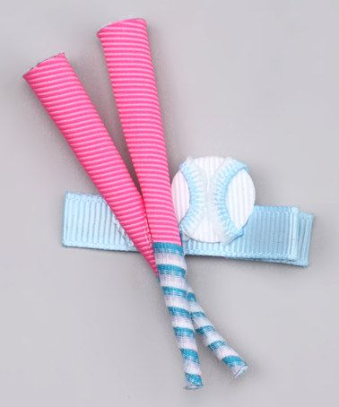 Take a look at this Pink Softball Bat Clip on zulily today!