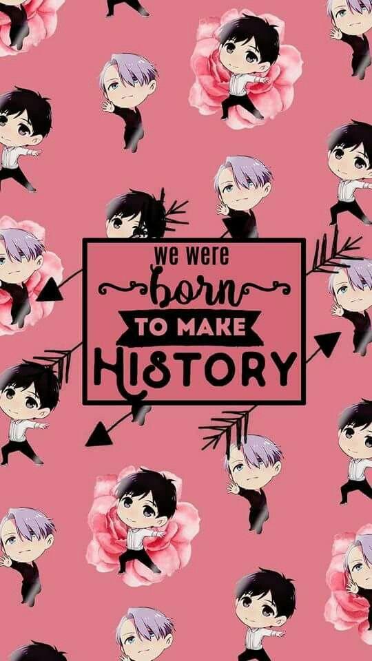 Wallpaper Of Yuri On Ice Screen Katsuki Plisetsky Manga Anime