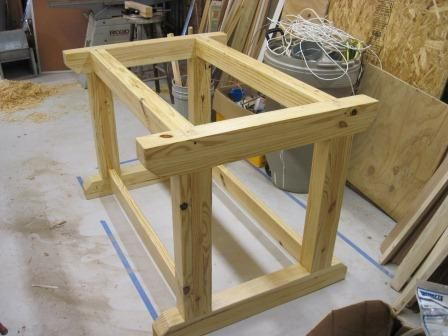 Frame For Bowling Alley Workbench Do It Yourself