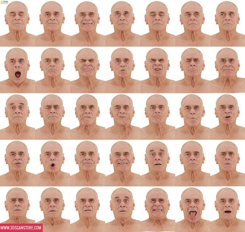 Ten24 Talks 3d Scanning Figure Drawing Models Human Face Drawing Expressions