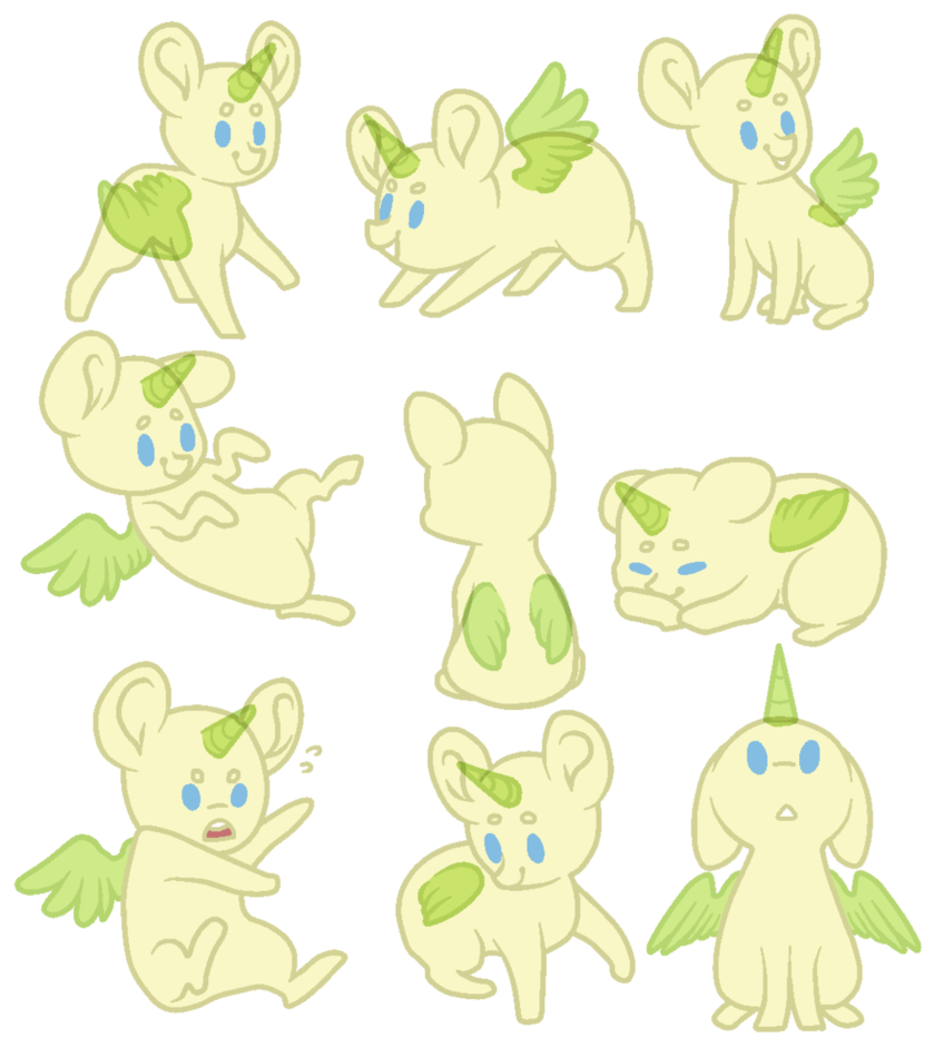 Chibi pack base by KateTheLittlePegasus MLP Pinterest