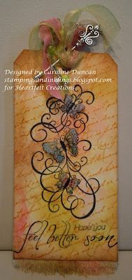 Tag Designed by Caroline Duncan ~ stampings and inklings