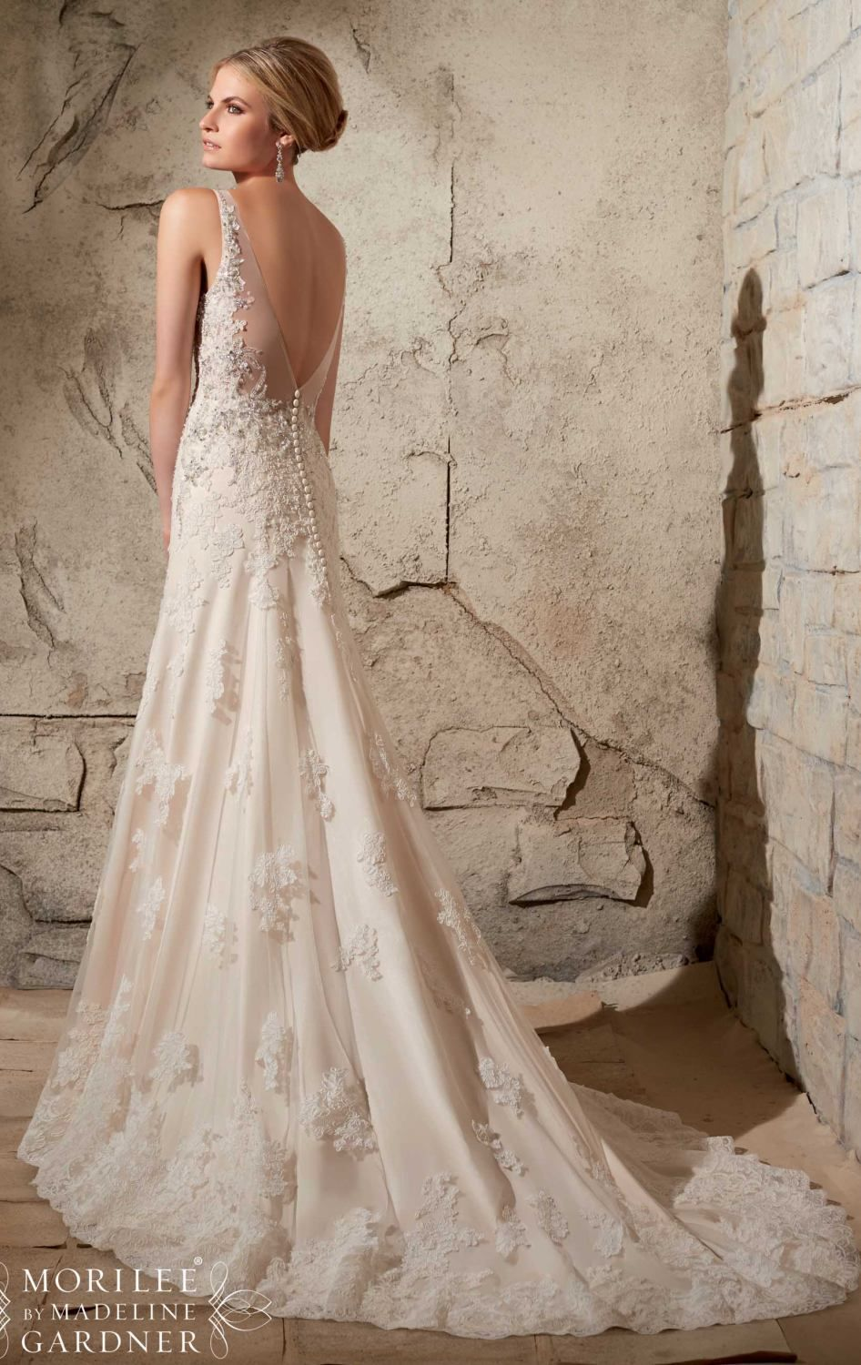 Mori Lee 2709 - Thumbnail 2 | Winter wedding dresses | Pinterest